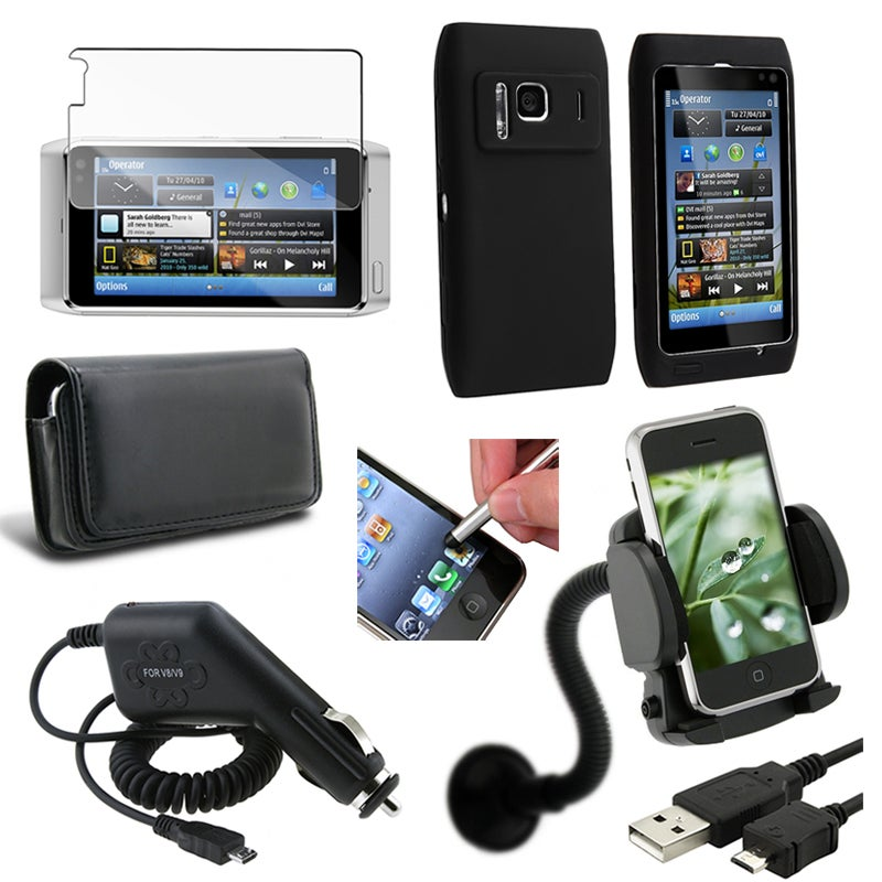 Cases/ Screen Protector/ Chargers/ Stylus/ Mount/ Cable for Nokia N8