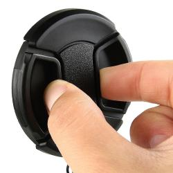 Lens Hood/ Cap/ UV Filter for Canon T1i/ XTi/ XS