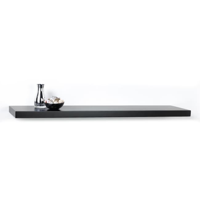 Chicago 35-inch Black Bracketless Shelf Kit