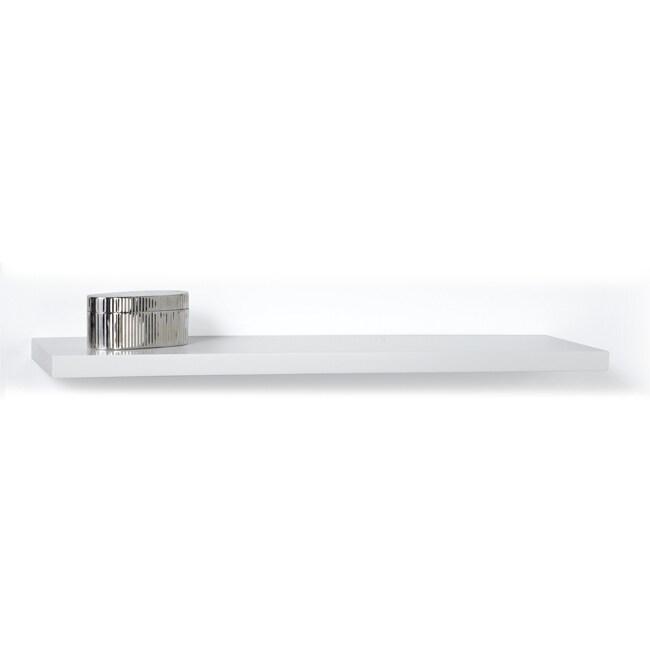 Chicago 35-inch White Bracketless Shelf Kit