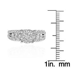 14k White Gold 2ct TDW White Diamond Ring (G-H, I1-12)