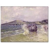 Alfred Sisley 'Lady's Cove Wales 1897' Canvas Art