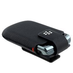 Blackberry Torch 9800/ Bold Slider Leather Swivel Case HDW-31012-001 - Thumbnail 1