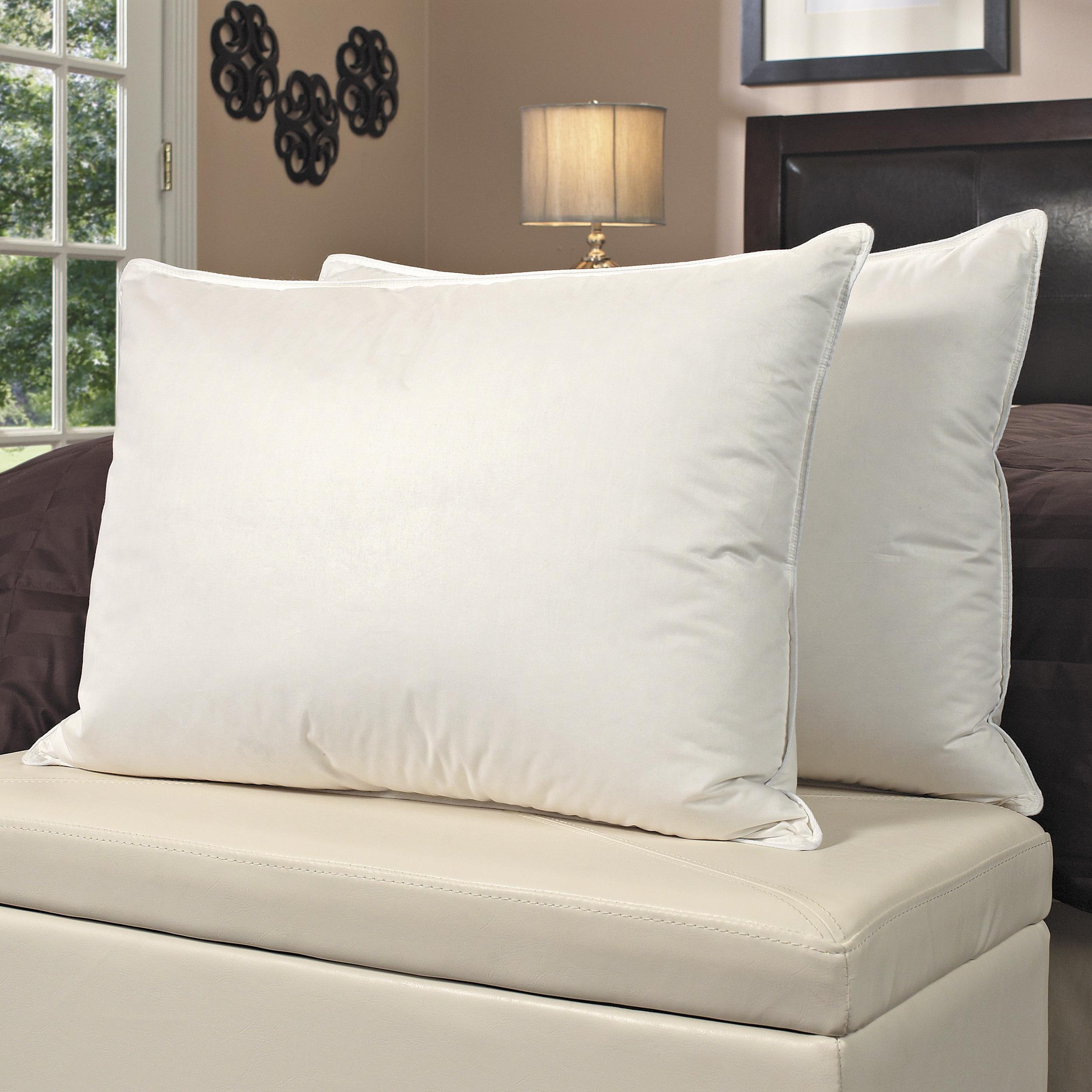 Famous Maker Egyptian Cotton Down Alternative Pillows (Set of 2)