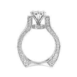 14k White Gold 4 1/2ct TDW Diamond Ring (G-H, I1-12)
