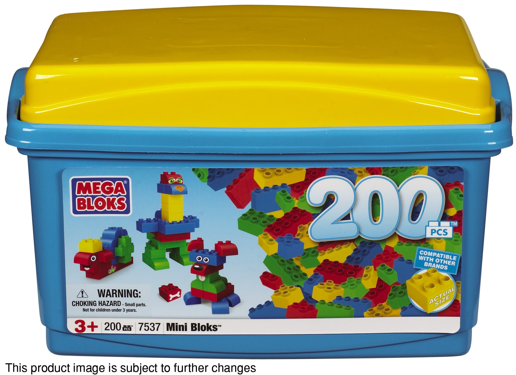 Mini Bloks Classic 200-piece Tub Play Set