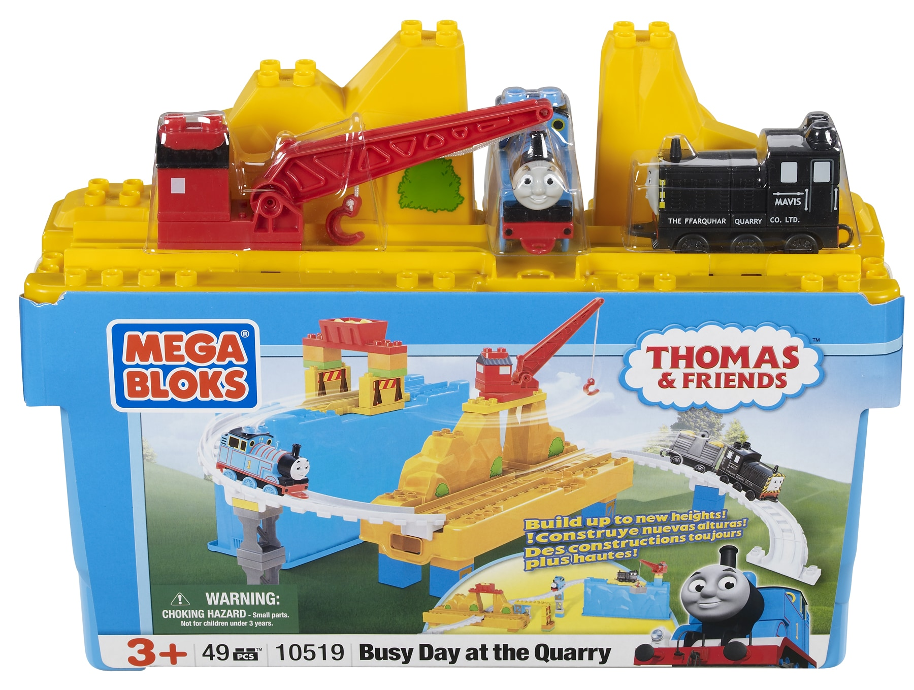 Shop Mega Bloks Thomas And Friends Busy Day At The Quarry