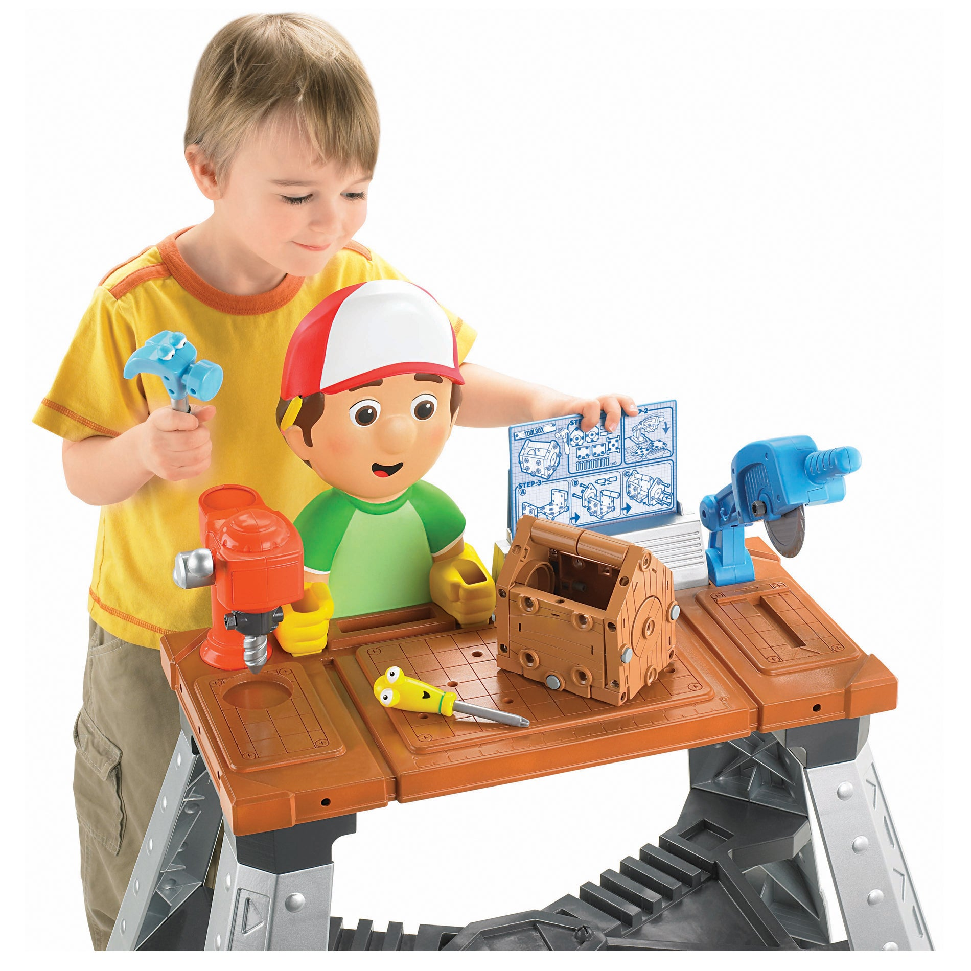 Fisher Price Handy Manny's Repair Shop Play Set