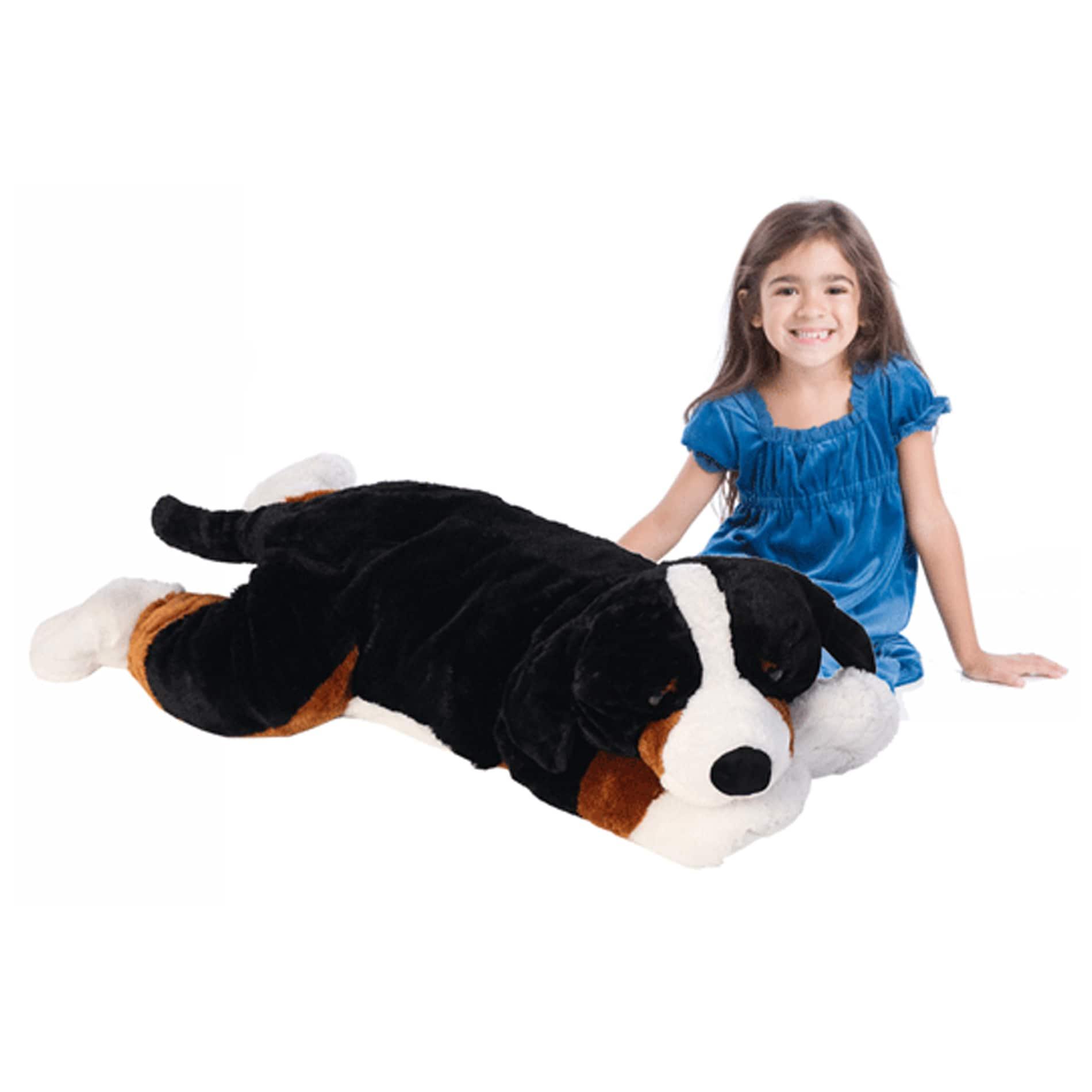 Shop Joo Joo Jumbo Bernese Mountain Dog Stuffed Animal Toy Free