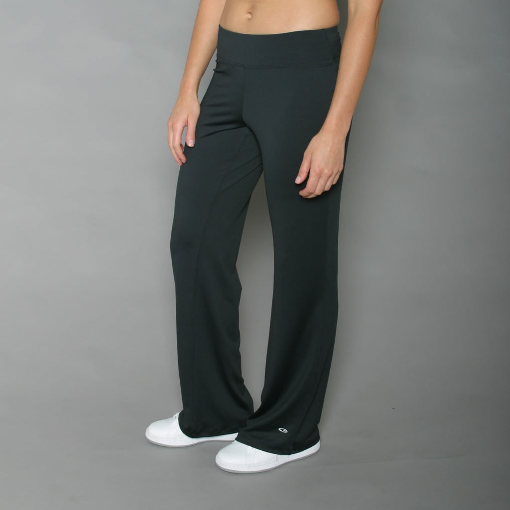 Champion Women's Black Knit Pants - Thumbnail 0