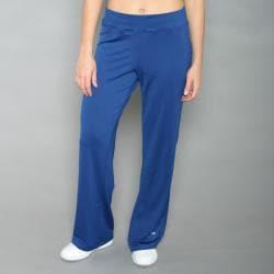 Champion Women's Navy Knit Pants - Thumbnail 1