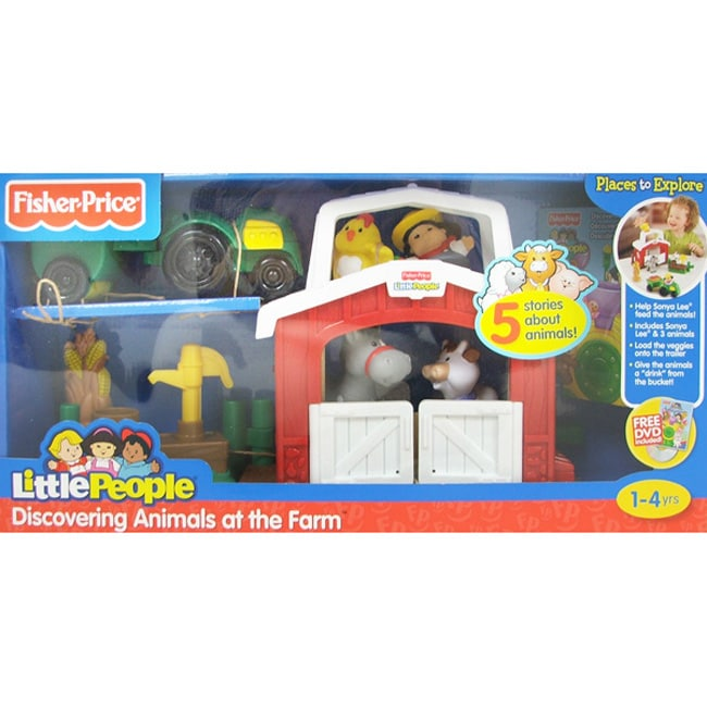Shop Fisher Price Little People Discovering Animals At The Farm