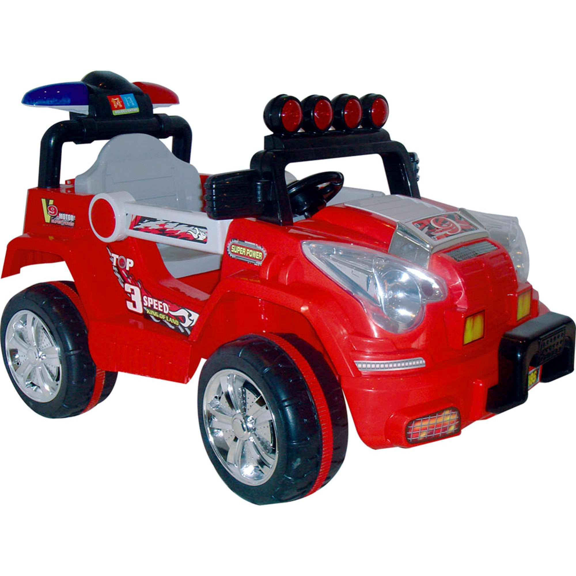 Lil Rider Land King 88-pound-capacity Battery-operated Children's Jeep