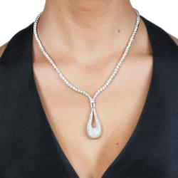 Cano Luxury Zirconite Necklace - Thumbnail 2