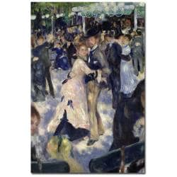 Pierre Auguste Renoir 'Le Moulin de la Galette' Canvas Art