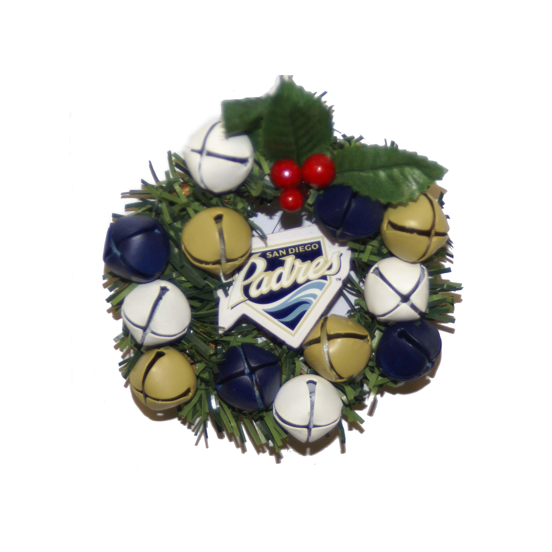 San Diego Padres Wreath Ornament