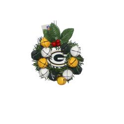 Green Bay Packers Wreath Ornament - Thumbnail 0