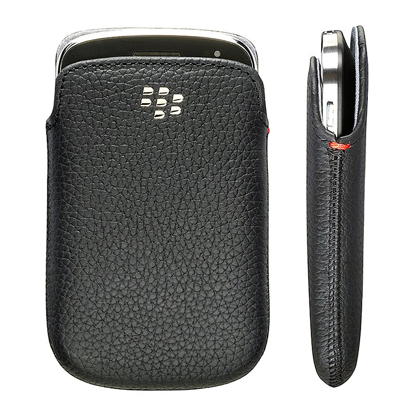 BlackBerry Bold 9900/ 9930 OEM Black Leather Pocket HDW-38845-001