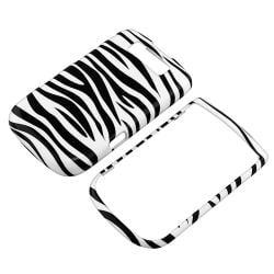 Black/ White Zebra Snap-on Case for BlackBerry Torch 9800/ 9810 - Thumbnail 1