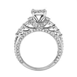 14k White Gold 2 1/5ct. TDW White Diamond Ring (G-H, I1-I2) - Thumbnail 1