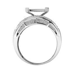 14k White Gold 1 1/2ct. TDW White Diamond Ring (G-H, I1-I2)