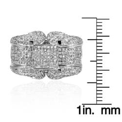 14k White Gold 2 1/4ct. TDW White Diamond Ring (G-H, I1-I2) - Thumbnail 2