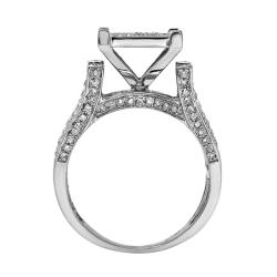 14k White Gold 1ct TDW White Diamond Ring (G-H, I1-I2) - Thumbnail 1