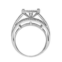 14k White Gold 3/4ct. TDW White Diamond Ring (G-H, I1-I2)