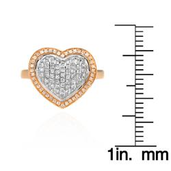 10k Yellow Gold 1/2ct TDW White Diamond Ring (G-H, I1-I2) - Thumbnail 2
