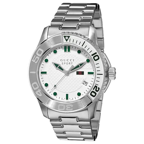 Gucci Men's 'G-Timeless Sport' Stainless Steel Watch