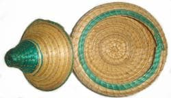 Green Wicker Basket (Ethiopia)