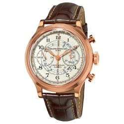 Baume & Mercier Men's 'Capeland' Rose Gold Flyback Chronograph Watch