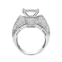 10k White Gold 1 3/4ct TDW White Diamond Ring (G-H, I1-I2)
