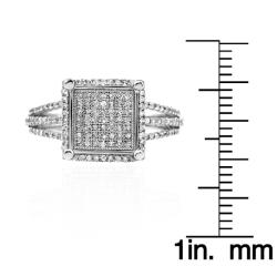 10k White Gold 1/2ct TDW White Diamond Ring (G-H, I1-I2)