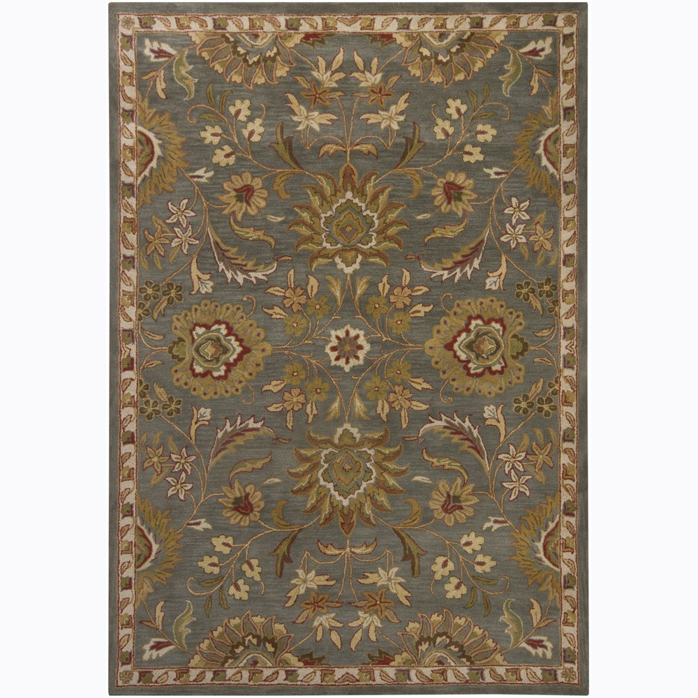 Artist's Loom Hand-tufted Traditional Oriental Wool Rug (9'x13')