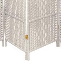 Diamond Weave 7-foot Room Divider (China)