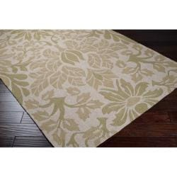 Hand-hooked Douro Floral Rug (9' x 12')