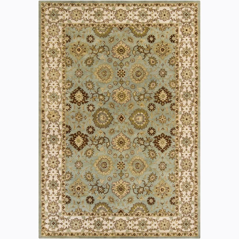 Hand-tufted Mandara Oriental Wool Rug (9'x12')