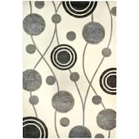 Safavieh Handmade New Zealand Wool Galaxy Beige/ Grey Rug - 7'6 x 9'6