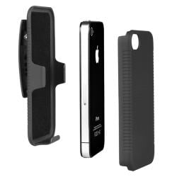 Swivel Holster/ Screen Protector/ Audio Cable for Apple iPhone 4S - Thumbnail 2