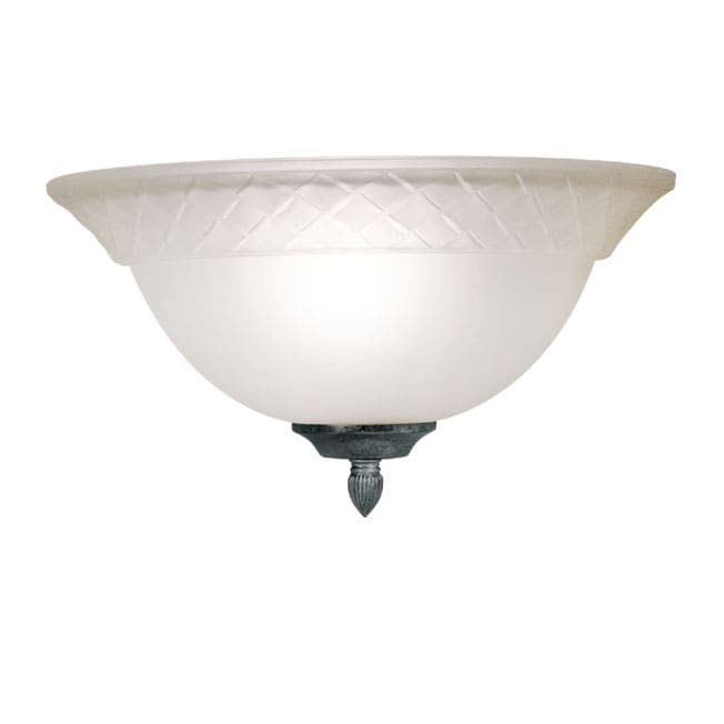 Woodbridge Lighting Amelia 1-Light Charcoal Wall Sconce