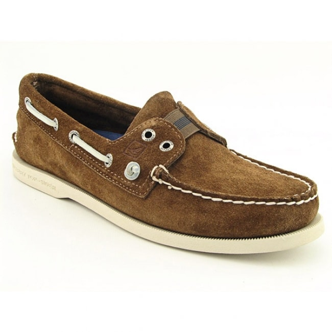 Sperry Top Sider A/O Mens Brown Tan Boat Shoes - Thumbnail 0