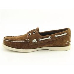 Sperry Top Sider A/O Mens Brown Tan Boat Shoes - Thumbnail 1