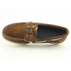 Sperry Top Sider A/O Mens Brown Tan Boat Shoes - Thumbnail 2