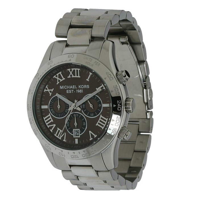 Michael Kors Men's Stainless Steel Chronograph Watch