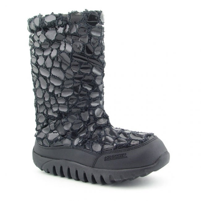 Mountrek Womens 'Lisa' Black Snow Boot Shoes (Size 10) - Free ...