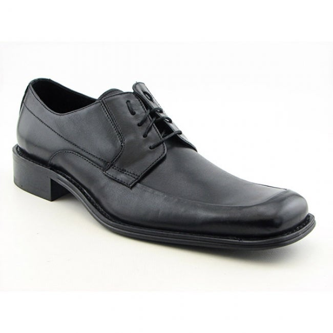 Kenneth Cole Mens 'NY Mid-Town' Black Oxford Shoes