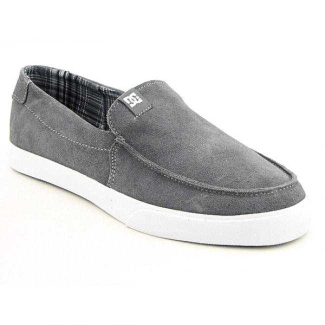DC Shoe Co USA Men's `Villain Vulc' Gray Battleship Skate Shoes