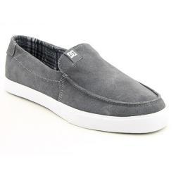 Thumbnail 1, DC Shoe Co USA Men's `Villain Vulc' Gray Battleship Skate Shoes.