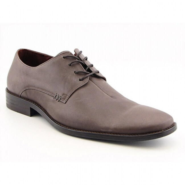 54c164b571 FCUK French Connection Mens 'Arbuckle' Brown Grey Formal Oxford